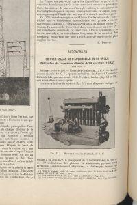 Le génie Civil 03-11-1923, Lorraine Dietrich, la 15 cv 1