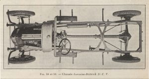 Le génie Civil 03-11-1923, Lorraine Dietrich, la 15 cv châssis 2