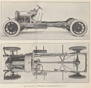 Le génie Civil 03-11-1923, Lorraine Dietrich, la 15 cv châssis