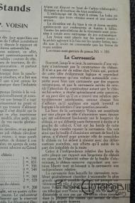 """Voisin-8hp-2-200x300 Voisin C4, 8 hp dans """"Le Génie Civil"""" du 20/10/1923 Voisin"""