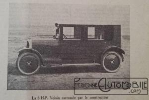 """Voisin-8hp-4-2-300x201 Voisin C4, 8 hp dans """"Le Génie Civil"""" du 20/10/1923 Voisin"""