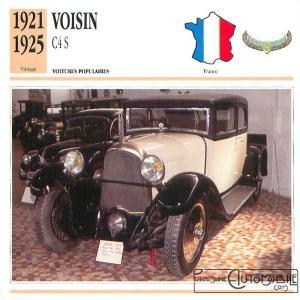 """Voisin-C4s-fiche-1-300x300 Voisin C4, 8 hp dans """"Le Génie Civil"""" du 20/10/1923 Voisin"""