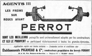 essieu Perrot-Pigagneau