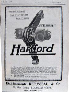mortisseur hartford
