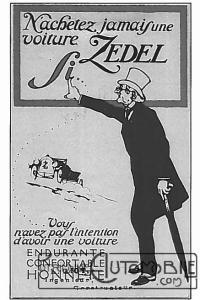 zedel-pub-200x300 Zedel Type CI-6 Torpédo de 1923 Divers Voitures françaises avant-guerre