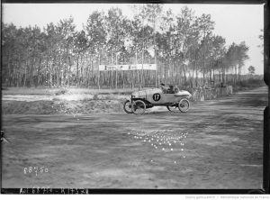 17-9-21, Le Mans, Grand prix des cyclecars, de Courcelles sur Hinstin (sur 3, aucune ne termine)