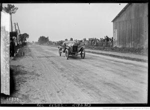 2-5-21, Le Mans, [Jean] Porporato sur Hinstin [Grand Prix de la consommation organisé par l'Automobile-Club de l'Ouest]