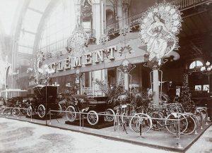 Clément salon de l'automobile du cycle et des sports (1901)