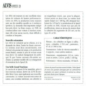 alvis speed 20 fiche 2