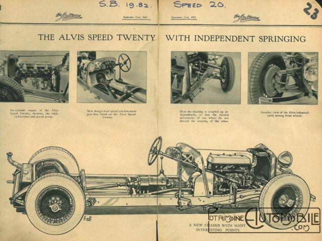 """alvis-speed-twenty-1933 Alvis """"Speed Twenty"""" 1936 Divers"""