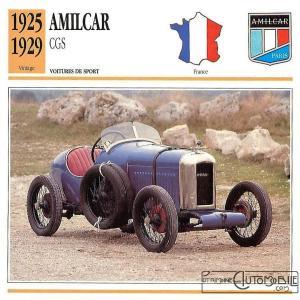 amilcar-CGS-fiche-300x300 Amilcar CGSS (1926/1929) Cyclecar / Grand-Sport / Bitza Divers