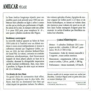 amilcar-pegase-fiche-2-300x300 Amilcar Pégase Divers Voitures françaises avant-guerre