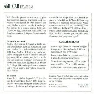 amilcar pegase g36 fiche 2