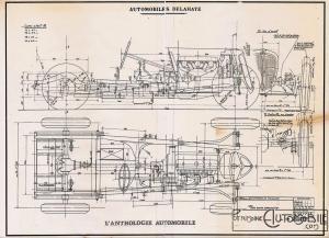 """delahaye-135-dessin-300x217 Delahaye 135 """"Sport"""" de 1936 Cyclecar / Grand-Sport / Bitza Divers Voitures françaises avant-guerre"""