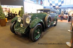 Bentleu Speed Six hommage Train Bleu (3)