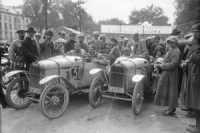 Paris - les Pyrénées - Paris, Lenfant sur Benjamin 1922