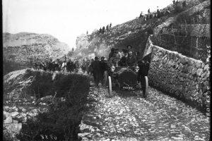 Lorraine-Dietrich de Paul Meyan, la montée de Monaco à La Turbie, le 10 avril 1908 4