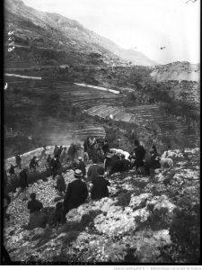 Lorraine-Dietrich de Paul Meyan, la montée de Monaco à La Turbie, le 10 avril 1908 6