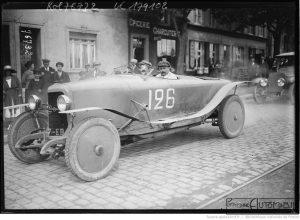 """27-7-22-grand-prix-de-Boulogne-Victor-Rigal-sur-Panhard-Levassor-1er-touristes-4-litres-400-300x220 Panhard Levassor """"Record"""" 1922 Cyclecar / Grand-Sport / Bitza Divers Voitures françaises avant-guerre"""