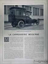 La carrosserie moderne…