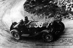 "alfa-romeo-nuvolari-mille-miglia-1933-6c1900-300x200 Alfa Roméo 6C 1900 ""Gran Turismo"" 1933 Cyclecar / Grand-Sport / Bitza Divers Voitures étrangères avant guerre"