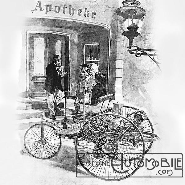 The World S First Automobile The Benz Patent Motorwagen: Femmes Qui Ont Influencé L'histoire Automobile