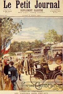 Le_Petit_Journal_-_6_August_1894-203x300 Peugeot Type 5 de 1894 Divers