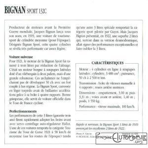 bignan-sport-132c-fiche-2-300x300 Bignan à Rétromobile Cyclecar / Grand-Sport / Bitza Divers Voitures françaises avant-guerre