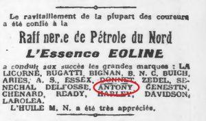 1925-21-septembre-Publicite-antony-300x176 Antony cyclecar Cyclecar / Grand-Sport / Bitza Divers