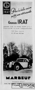 Femina_-dec-1938-118x300 Georges Irat 5 et 6 cv Cyclecar / Grand-Sport / Bitza Divers Georges Irat