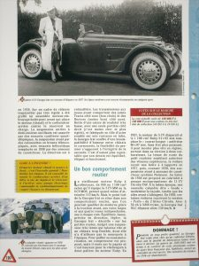 Georges-Irat-MDS-fiche-2-225x300 Georges Irat 5 et 6 cv Cyclecar / Grand-Sport / Bitza Divers Georges Irat