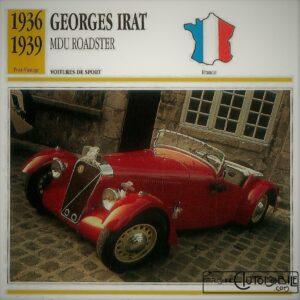 Georges-Irat-MDU-fiche-1-300x300 Georges Irat 5 et 6 cv Cyclecar / Grand-Sport / Bitza Divers Georges Irat