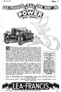 lea-francis-pub-1928-200x300 Lea-Francis 1928 Divers Voitures étrangères avant guerre