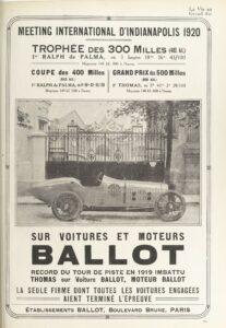 La_Vie_au_grand_air_20-07-1920-207x300 Ballot 3 litres 1920 Cyclecar / Grand-Sport / Bitza Divers