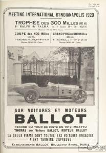 La_Vie_au_grand_air_20-07-1920-207x300 Ballot 3 litres 1920 Cyclecar / Grand-Sport / Bitza Divers
