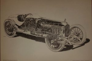ballot-3L-eclaté-300x200 Ballot 3 litres 1920 Cyclecar / Grand-Sport / Bitza Divers
