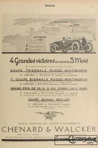 Omnia-1925-Chenard-et-Walcker-200x300 Chenard et Walcker T3, 2 Litres Sport de 1924 Cyclecar / Grand-Sport / Bitza Divers