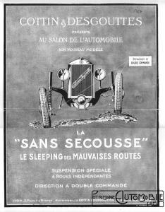 cottin-1927-pub-234x300 Cottin Desgouttes Type TA 1929 du Rallye Saharien Divers Voitures françaises avant-guerre