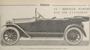 Omnia-juin-1921-Lorraine-dietrich-15-cv-1-3-300x168 Lorraine Dietrich B2-6 torpédo de 1922 Lorraine Dietrich Lorraine Dietrich B2-6 1920