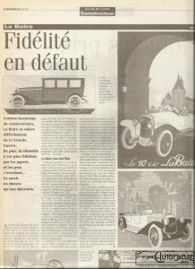 """la-buire-lva-218x300 La Buire """"Sport"""" 1926 Cyclecar / Grand-Sport / Bitza Divers"""