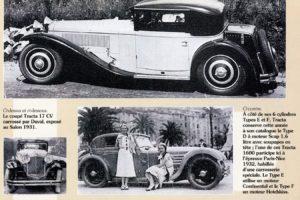 1932-Tracta-Toutes-les-voitures-francaises-1982-300x200 Tracta Type D2 1931 Divers Voitures françaises avant-guerre