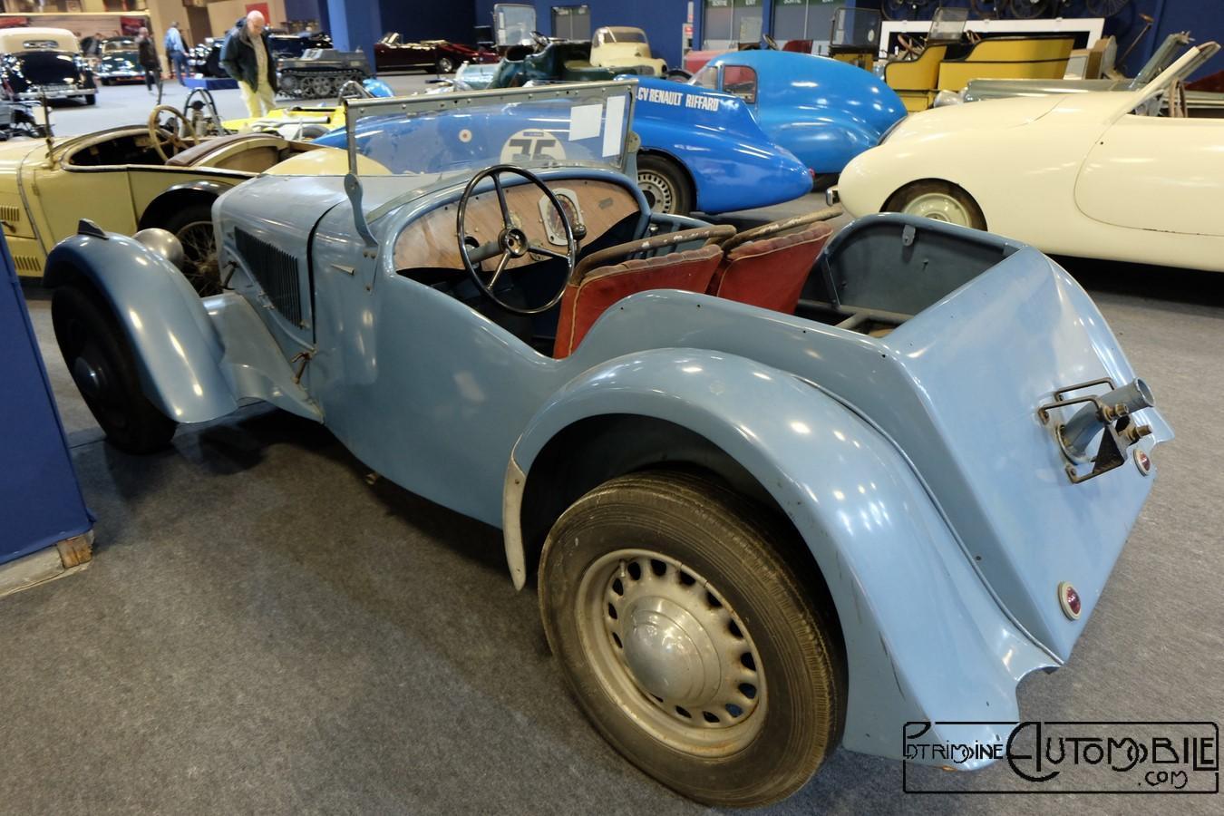 Georges irat mdu 1937 patrimoine automobile com for Porte garage sectionnelle 300x200