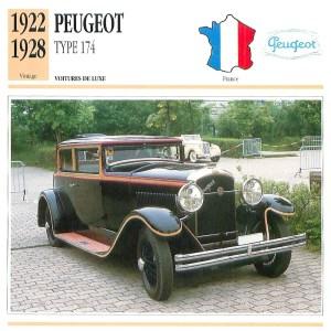 Peugeot-18-CV-174-Fiche-1-300x300 Peugeot 174 S Torpedo Divers Voitures françaises avant-guerre