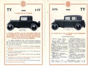 Mathis-TY-5-cv-1932-pub-2-300x225 Mathis TY 5 cv de 1932 Divers Voitures françaises avant-guerre