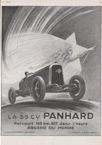 Vogue__bpt6k6538696p-212x300 Panhard Levassor 35 CV des Records (1926) Cyclecar / Grand-Sport / Bitza Divers Voitures françaises avant-guerre