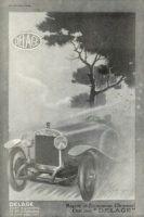 Delage-Pub-1924-200x300 Delage Type GL 1924, skiff Labourdette Divers Voitures françaises avant-guerre