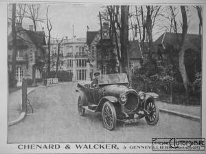 Chenard-et-Walker-9-300x225 Chenard et Walker T2 1914 Divers Voitures françaises avant-guerre