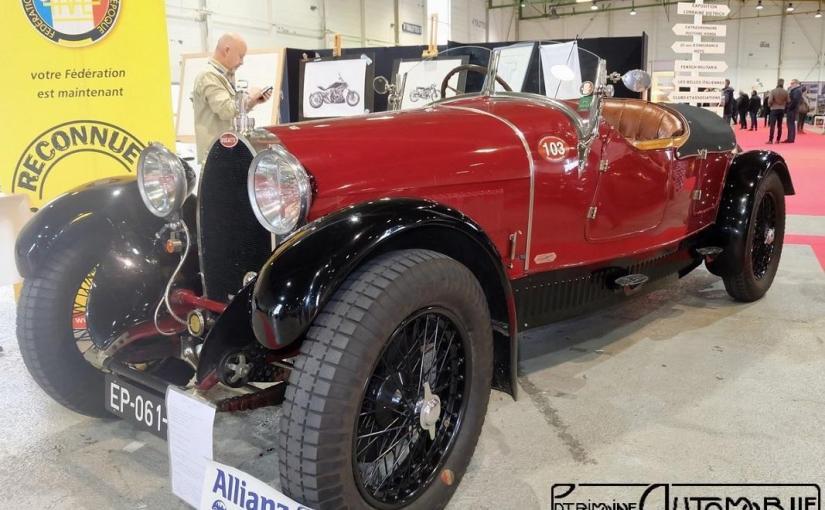Bugatti Type 38 de 1927 par Lavocat et Marsaud