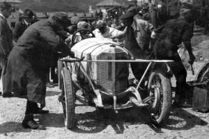 """Mercedes-1500-targa-florio-1922-1-300x200 Mercedes 1,5 L """"6/40/65"""" Targa Florio 1923 Cyclecar / Grand-Sport / Bitza Divers Voitures étrangères avant guerre"""