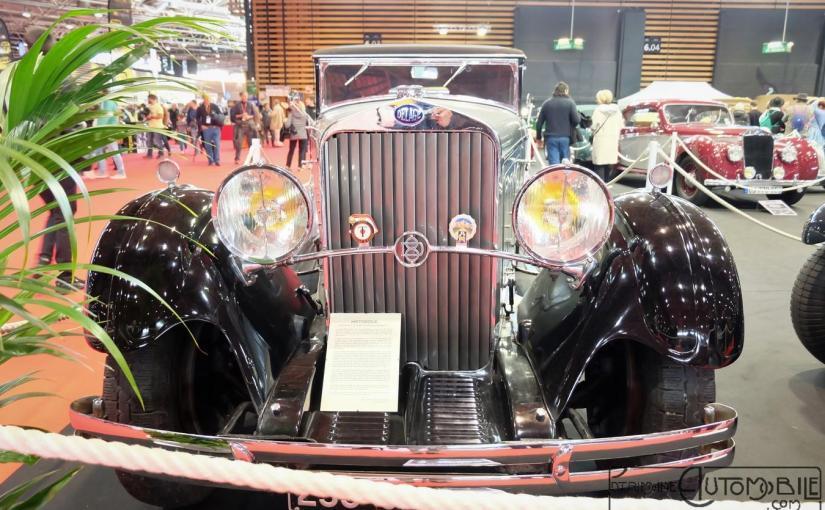 "Delage D8 ""C"" Cabriolet Figoni 1933"